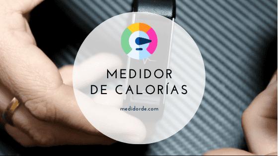 medidor de calorias para la salud