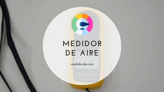 medidor de aire