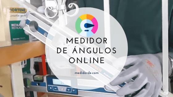medidor de angulos online