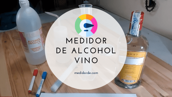 medidor de alcohol vino