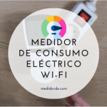 Medidor de consumo electrico Wi-Fi