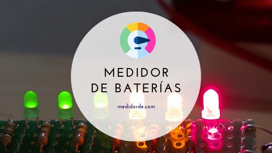 medidor de baterias